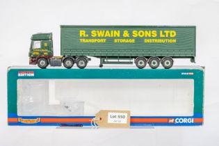 Corgi DAF CF Curtainside - R Swain & Son Ltd -