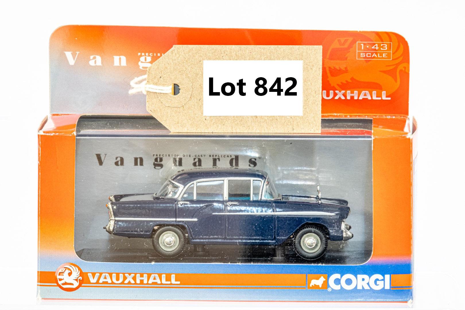 Vanguards Vauxhall Victor - Empress Blue