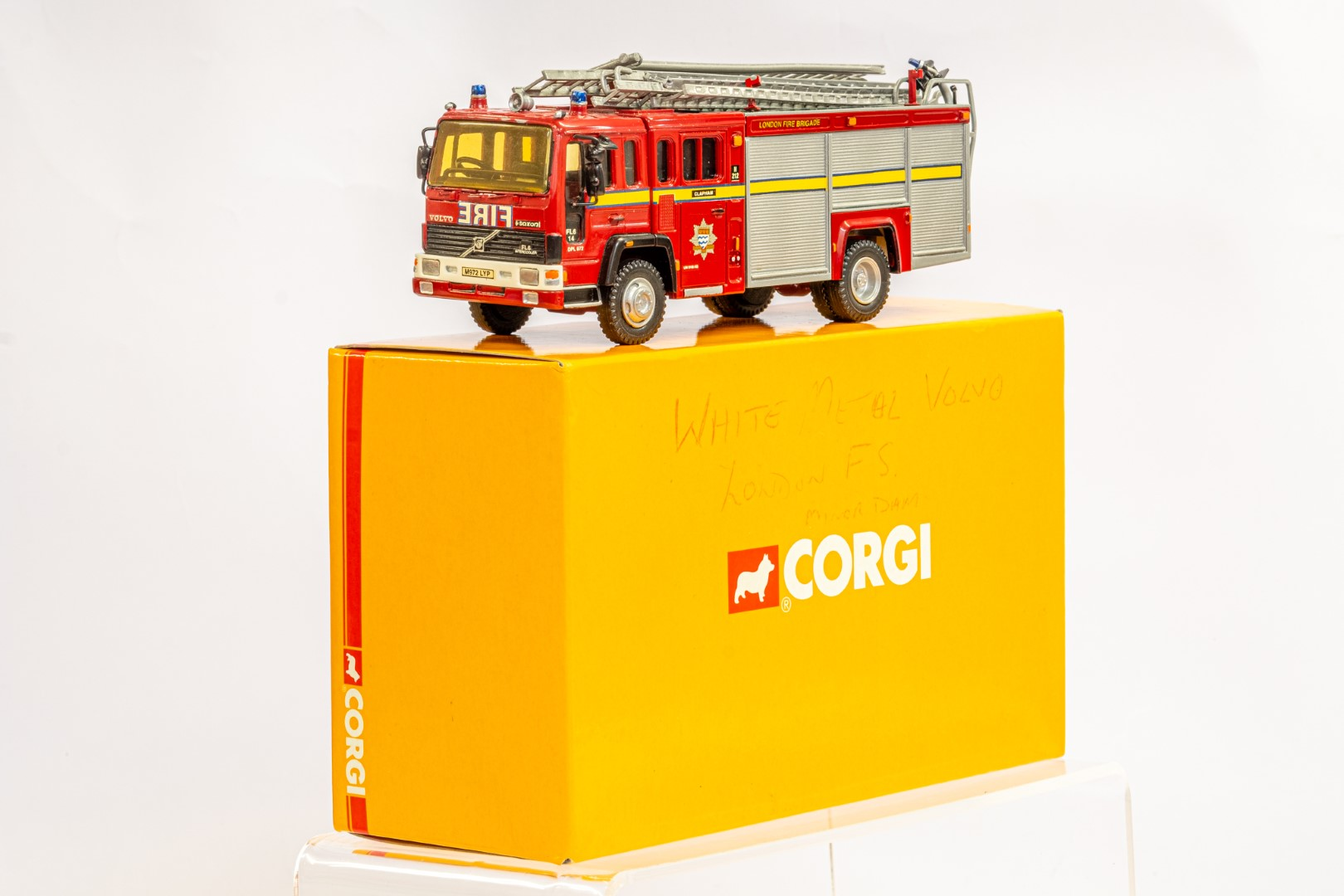 Fire Brigade Models Volvo Fire Engine - Clapham Fire Brigade - In Wrong Box - Image 2 of 7