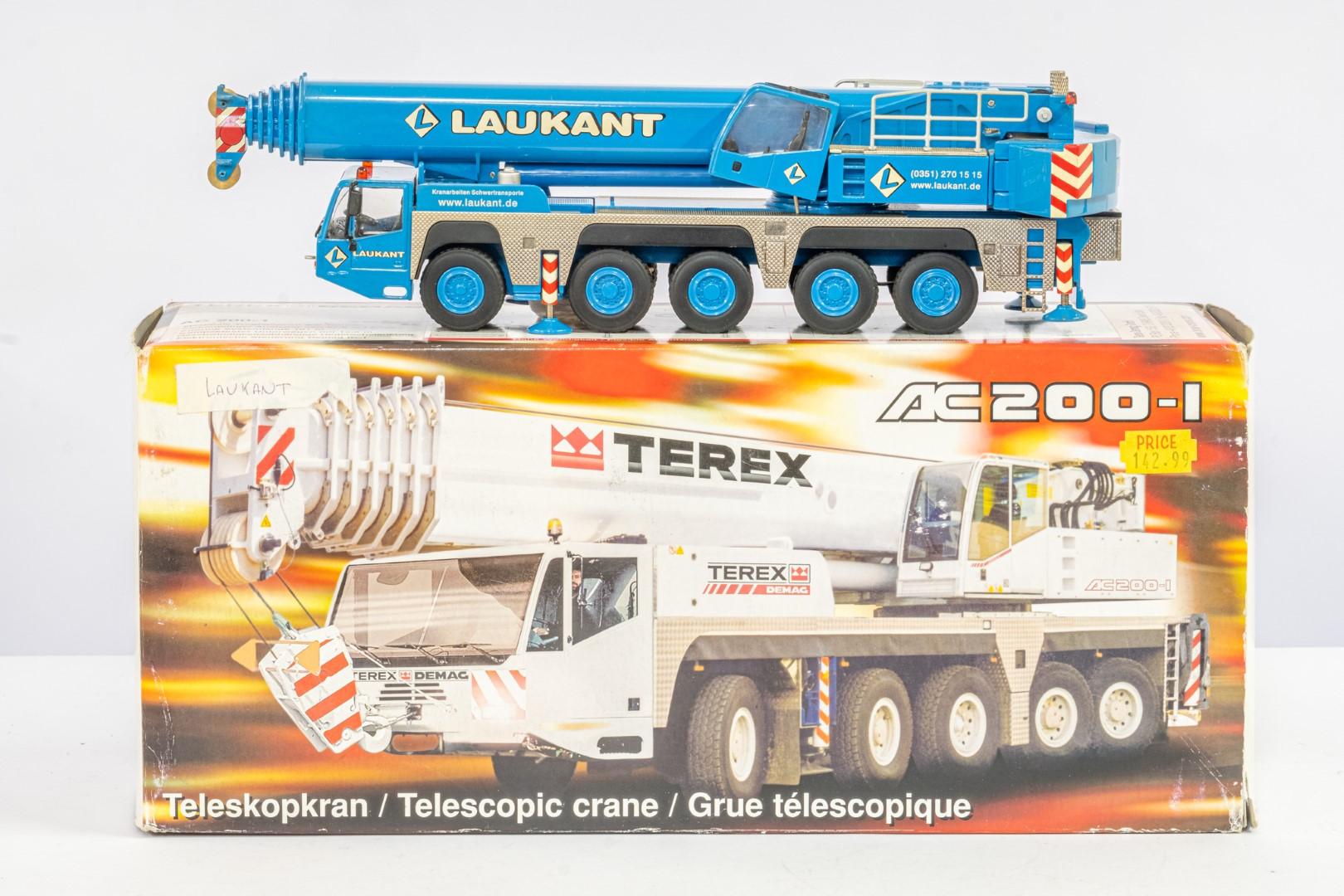 NZG Terex Demag AC200-1 Laukant - - Image 2 of 6