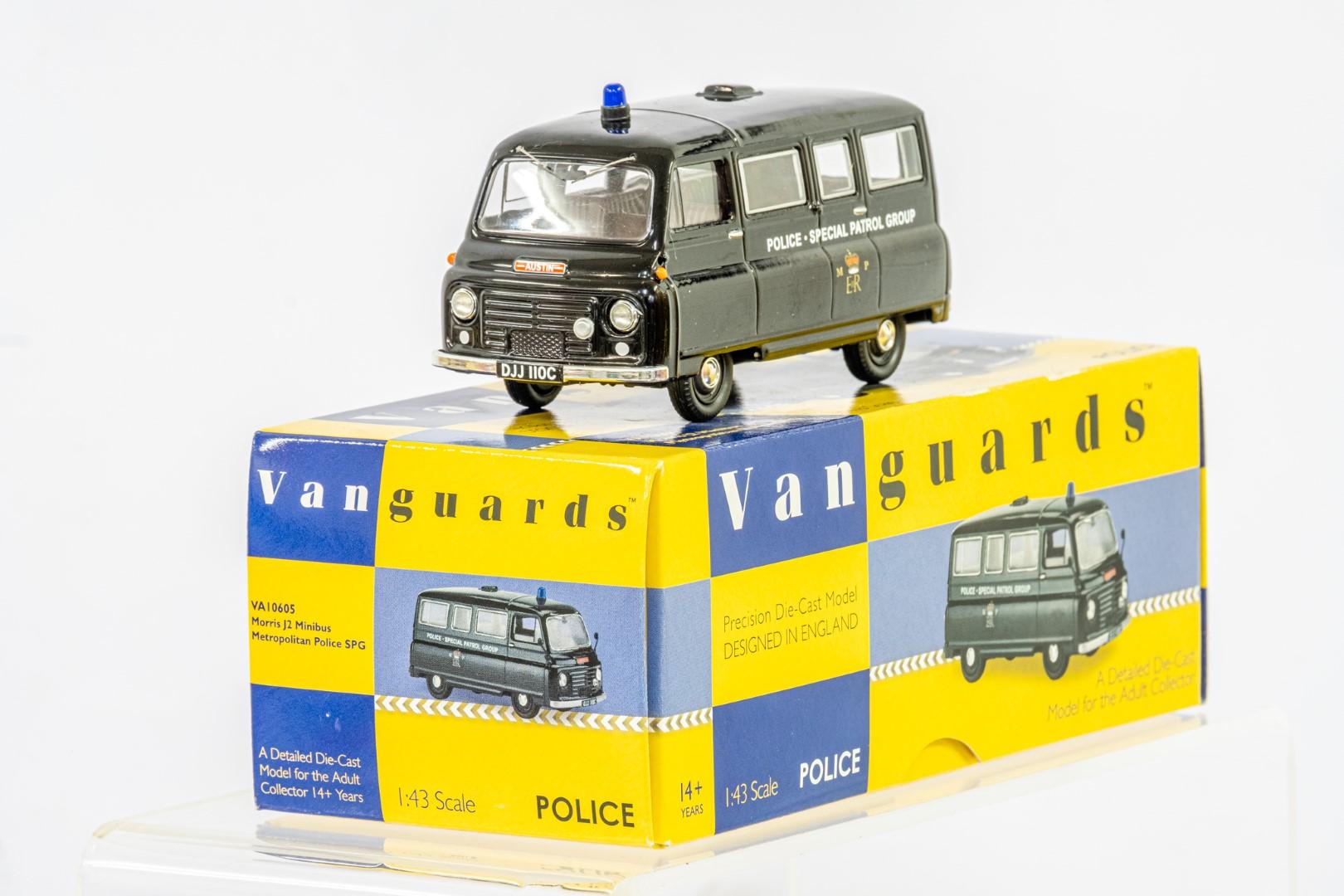 Vanguards Morris J2 Minibus - Metropolitan Police SPG - Image 3 of 6