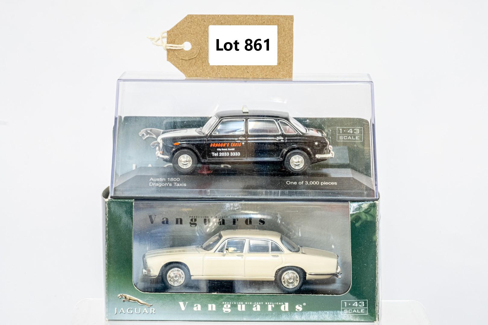 Vanguards Austin 1800 - Dragon's Taxis / Daimler Sovereign - Old English White
