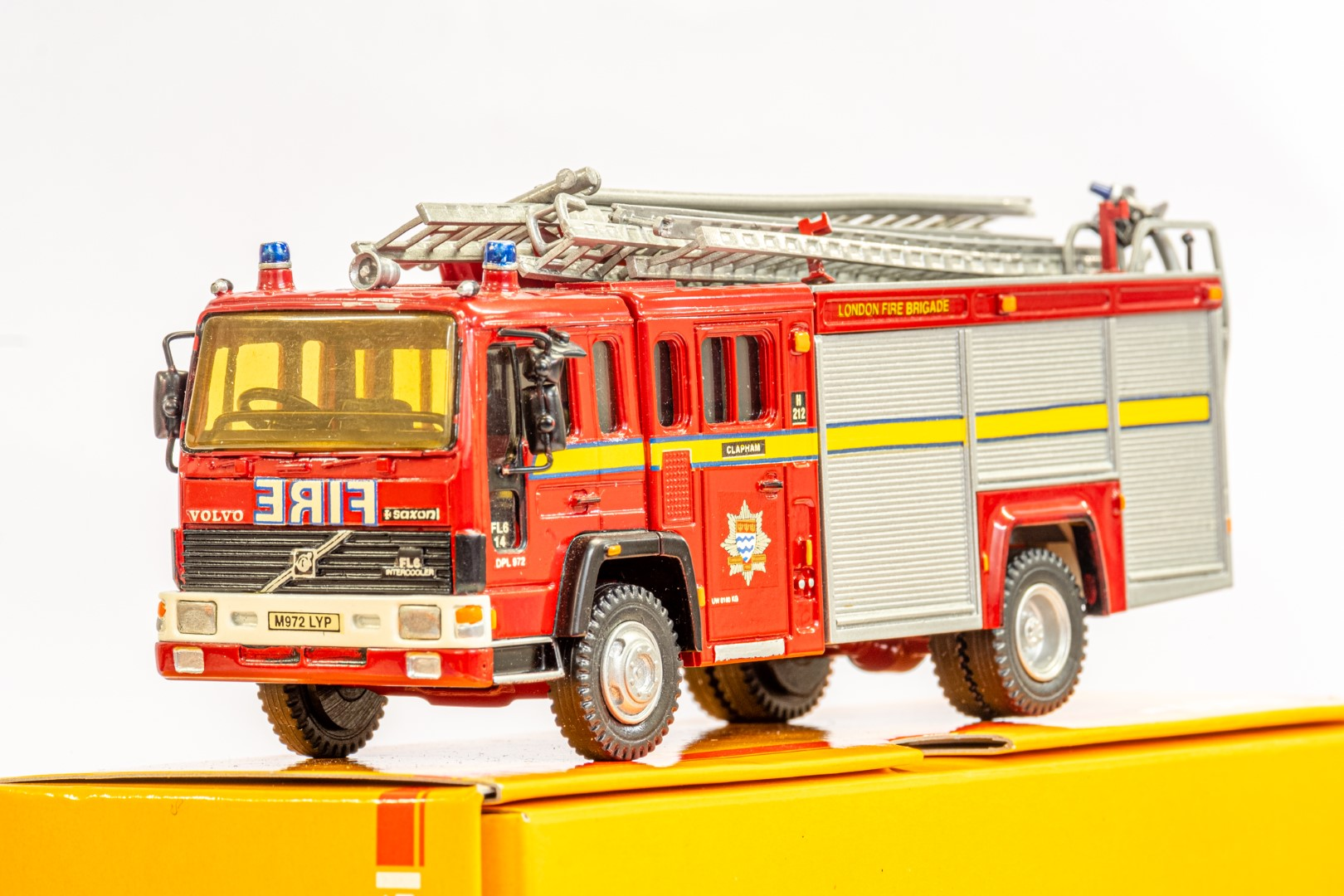 Fire Brigade Models Volvo Fire Engine - Clapham Fire Brigade - In Wrong Box - Image 4 of 7