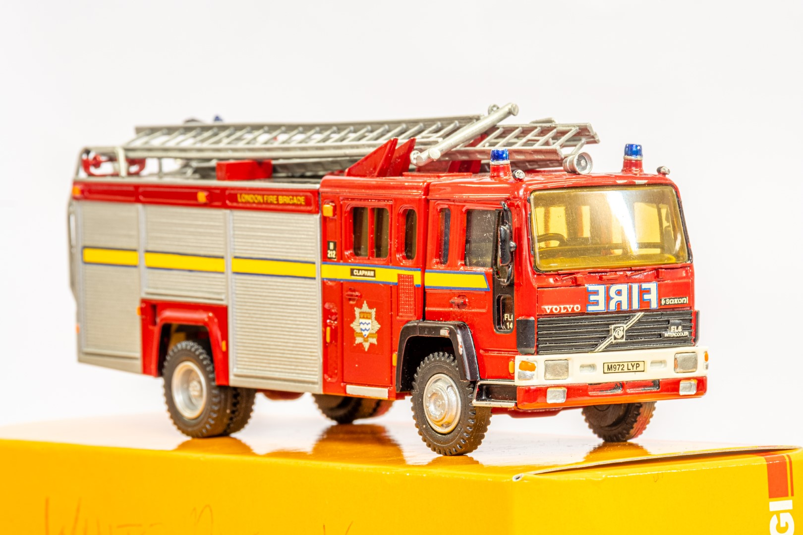 Fire Brigade Models Volvo Fire Engine - Clapham Fire Brigade - In Wrong Box - Image 7 of 7