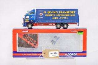 Corgi Volvo FM Curtainside - N.Irving Transport -