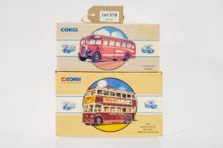 Corgi Leyland Tiger - Bartons / Sunbeam W Utility Trolleybus - Maidstone Corporation -