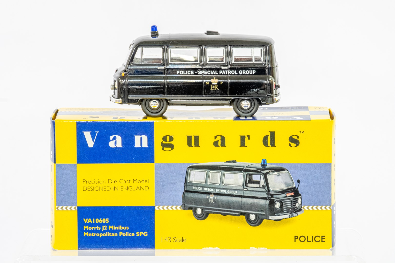 Vanguards Morris J2 Minibus - Metropolitan Police SPG - Image 2 of 6