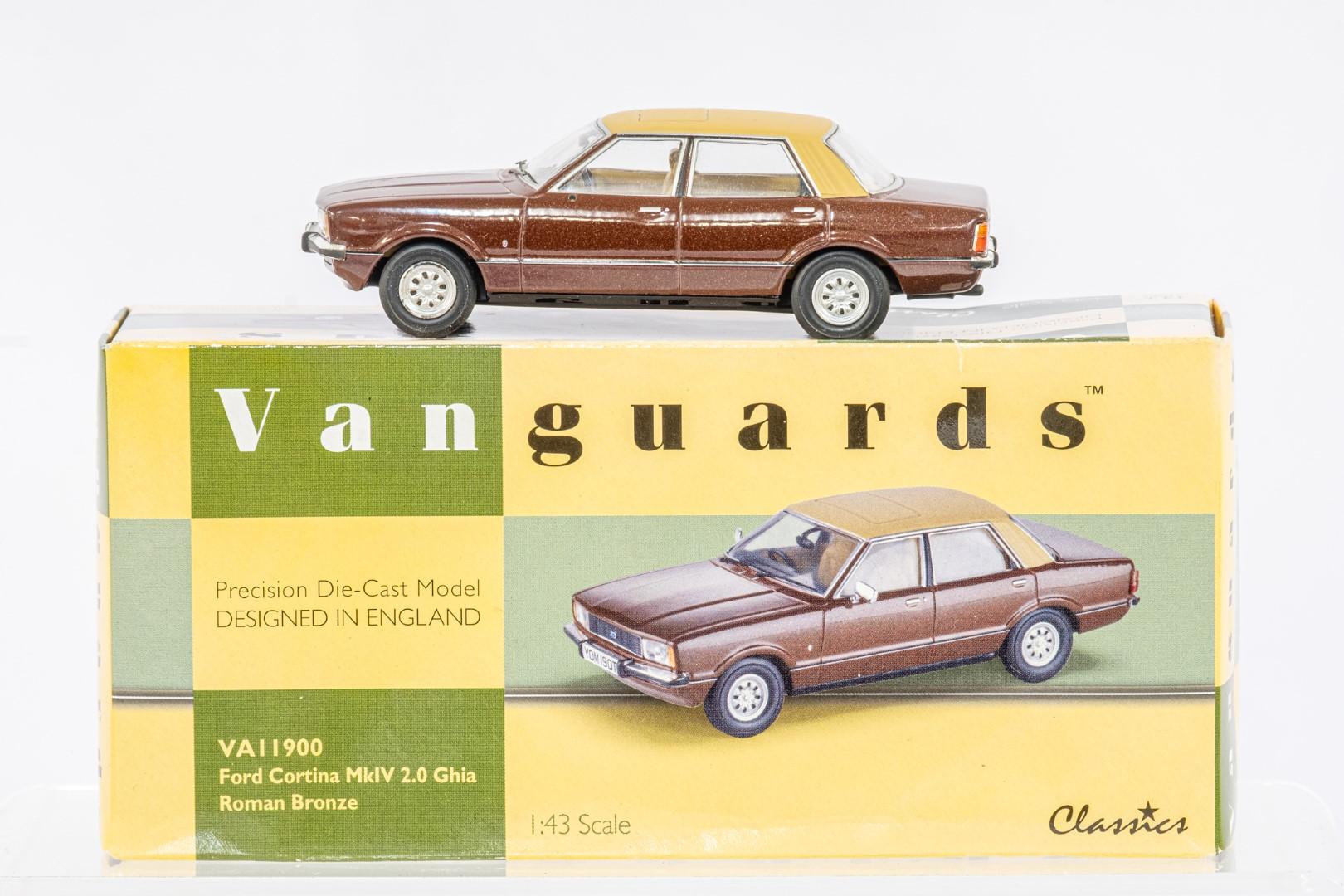 Vanguards Ford Cortina MkIV 2.0 Ghia Roman Bronze - Wolseley Six - Cosmic Blue Metallic - - Image 3 of 3