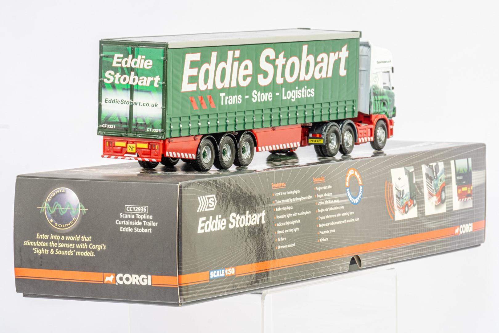 Corgi Scania Topline Curtainside Trailer - Eddie Stobart - Sights & Sounds - Image 3 of 3