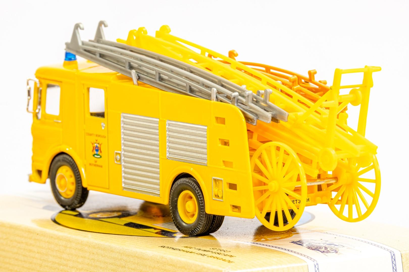 Corgi AEC Pump Escape - Rotherham Fire Brigade - Image 6 of 8