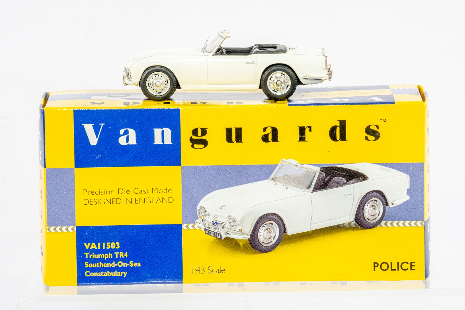 Vanguards Triumph TR4 - Southend On Sea Constabulary - Image 2 of 6