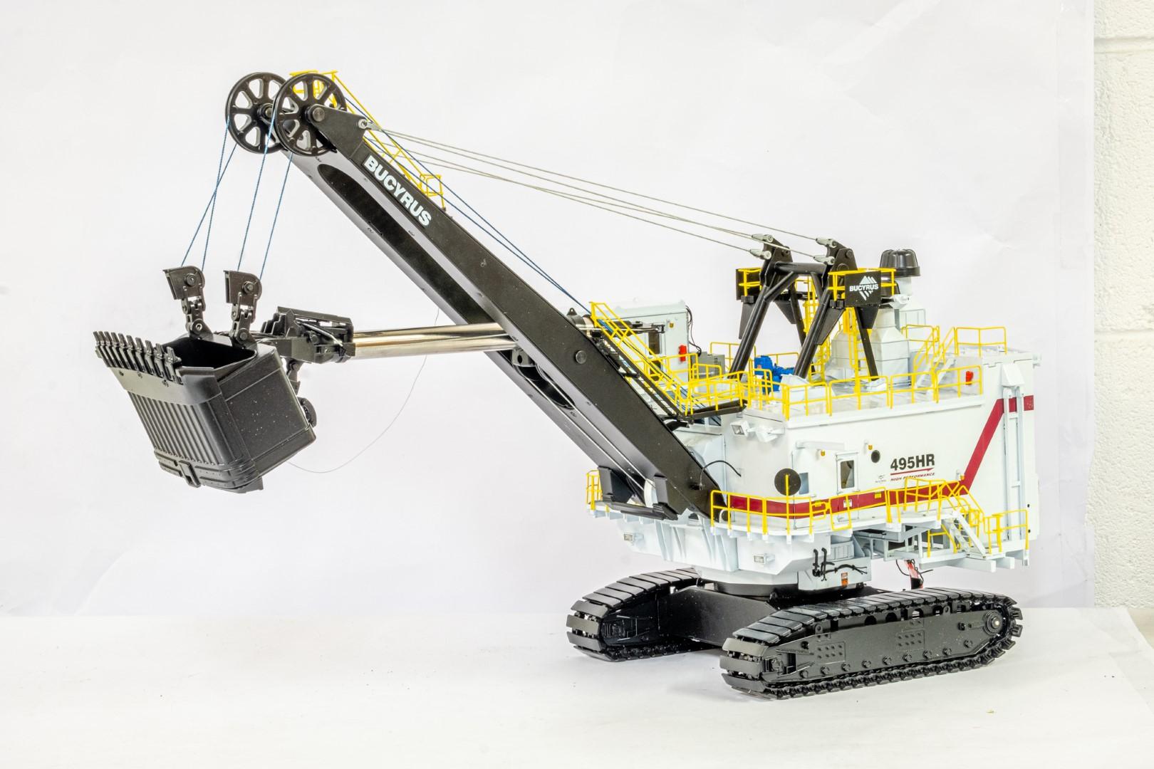 TWH Bucyrus 495HR Electric Mining Shovel -