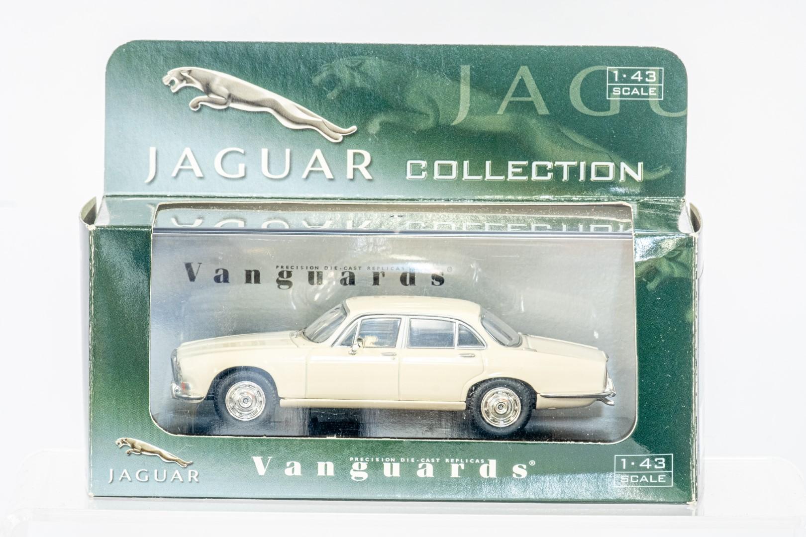 Vanguards Austin 1800 - Dragon's Taxis / Daimler Sovereign - Old English White - Image 2 of 3