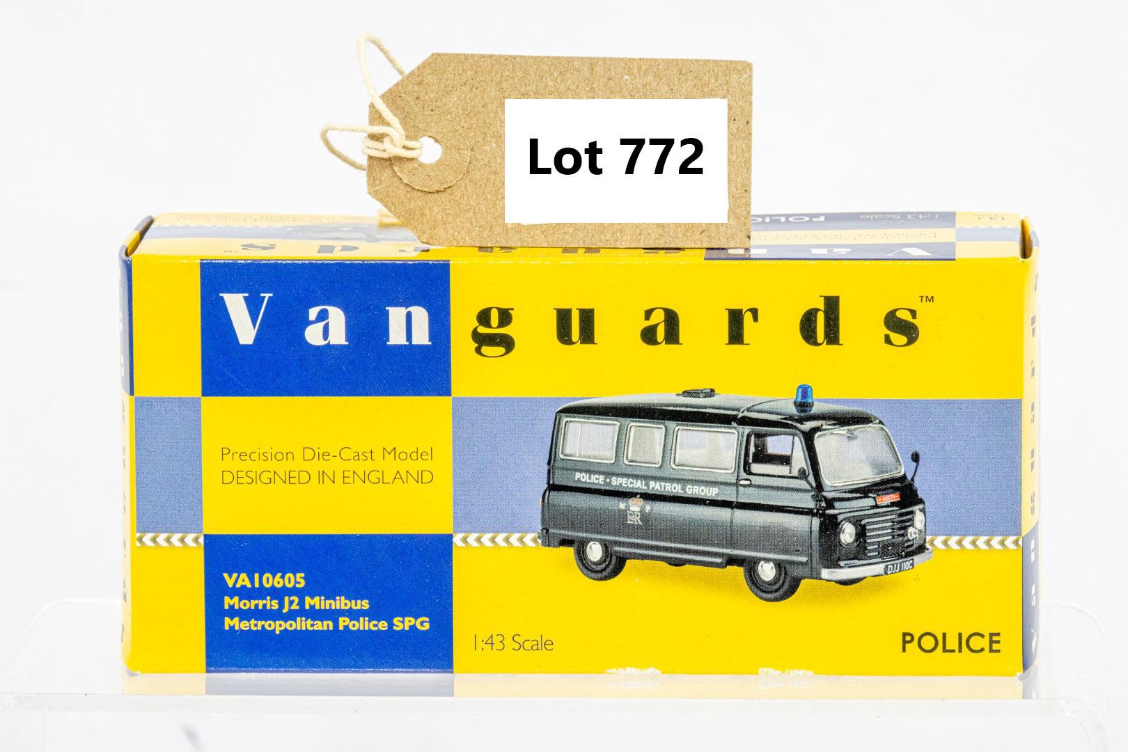 Vanguards Morris J2 Minibus - Metropolitan Police SPG