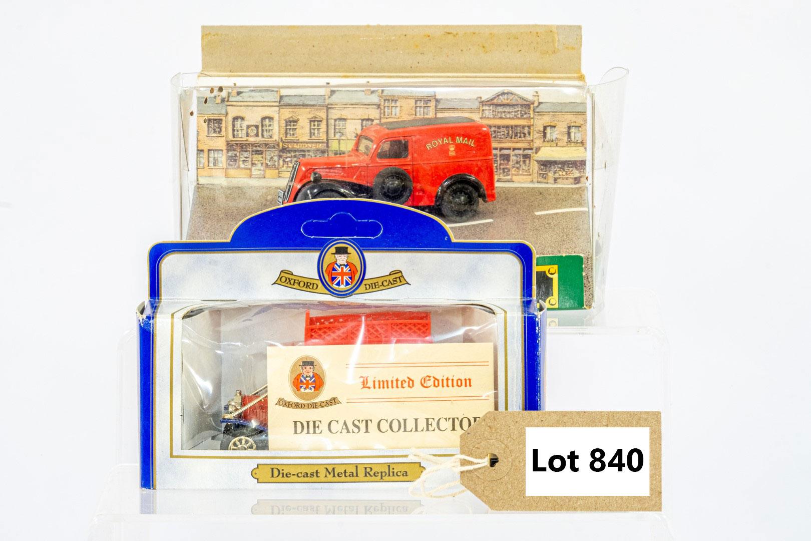Corgi & Oxford Ford Popular Van & Model T Van