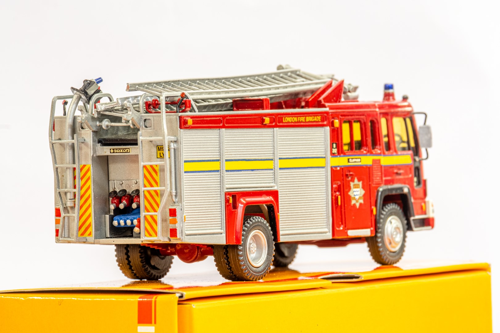Fire Brigade Models Volvo Fire Engine - Clapham Fire Brigade - In Wrong Box - Image 6 of 7