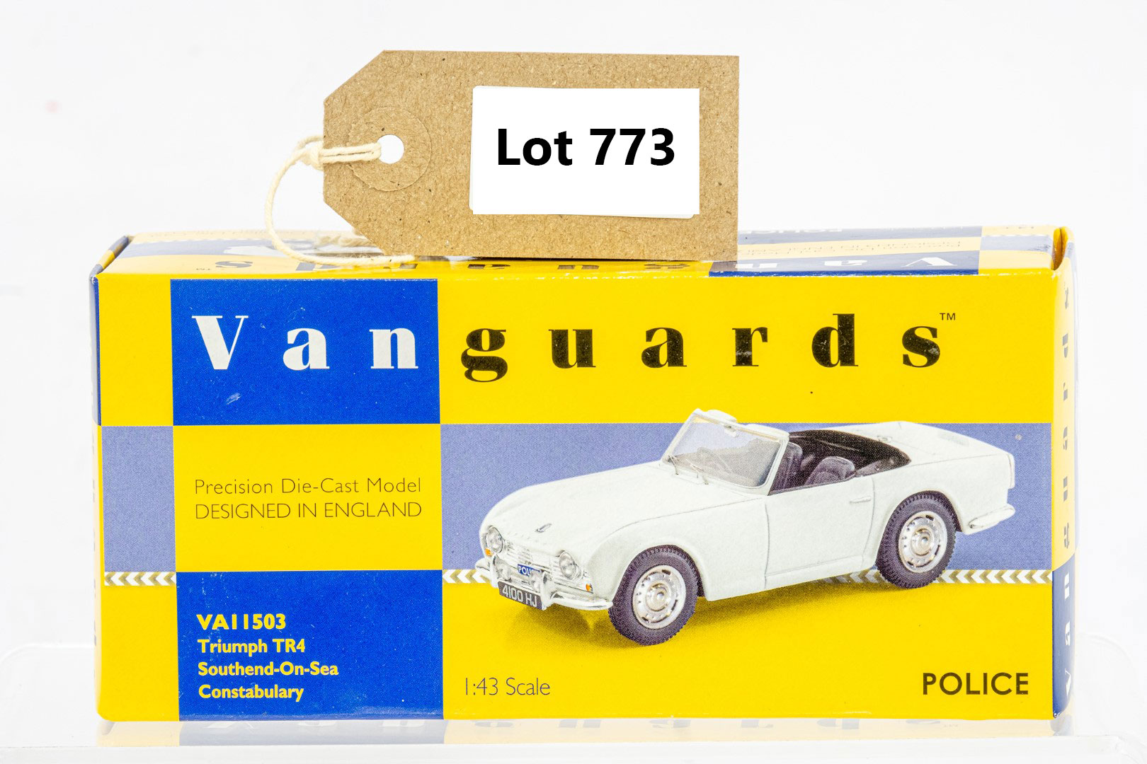 Vanguards Triumph TR4 - Southend On Sea Constabulary