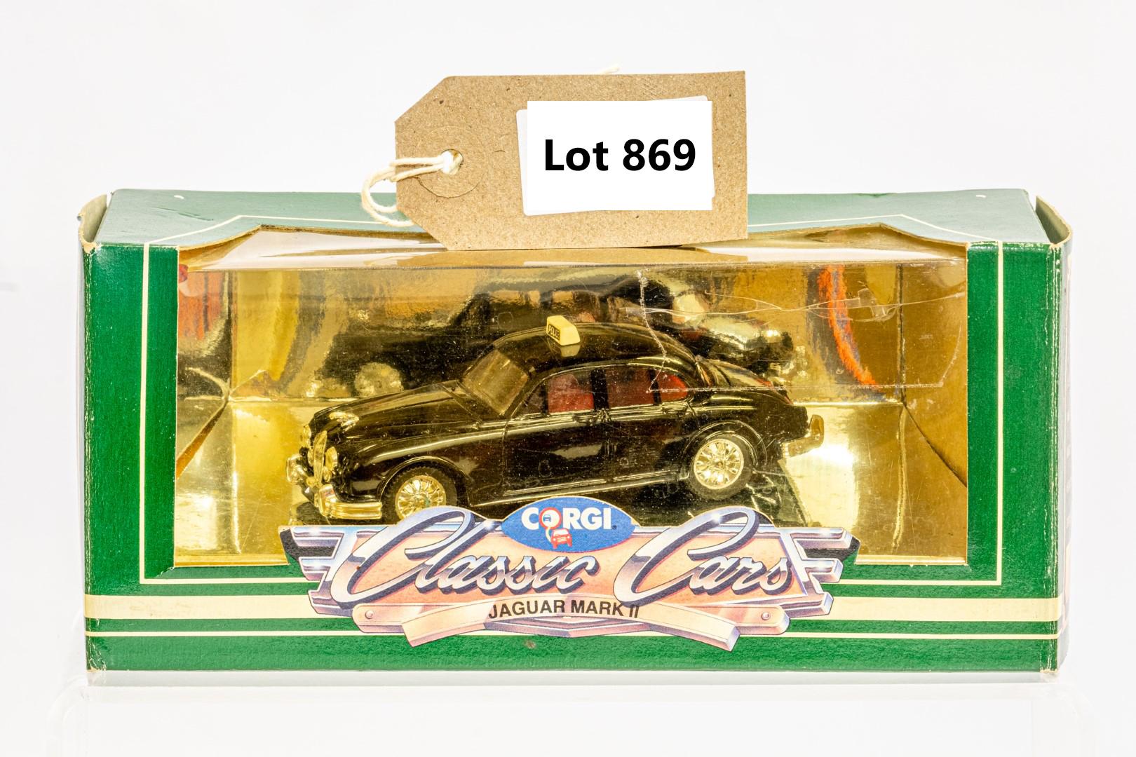 Corgi 1959 Jaguar MKII - Police