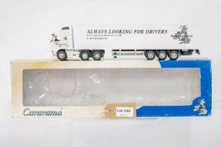 Cararama Volvo FH12 Box Trailer - H.G.V. Recruitment Ltd -