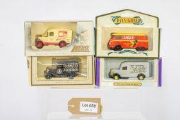 Lledo & Oxford 4 x Boxed Models -