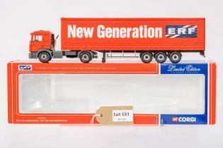 Corgi ERF ECS Curtainside - ERF The New Generation -