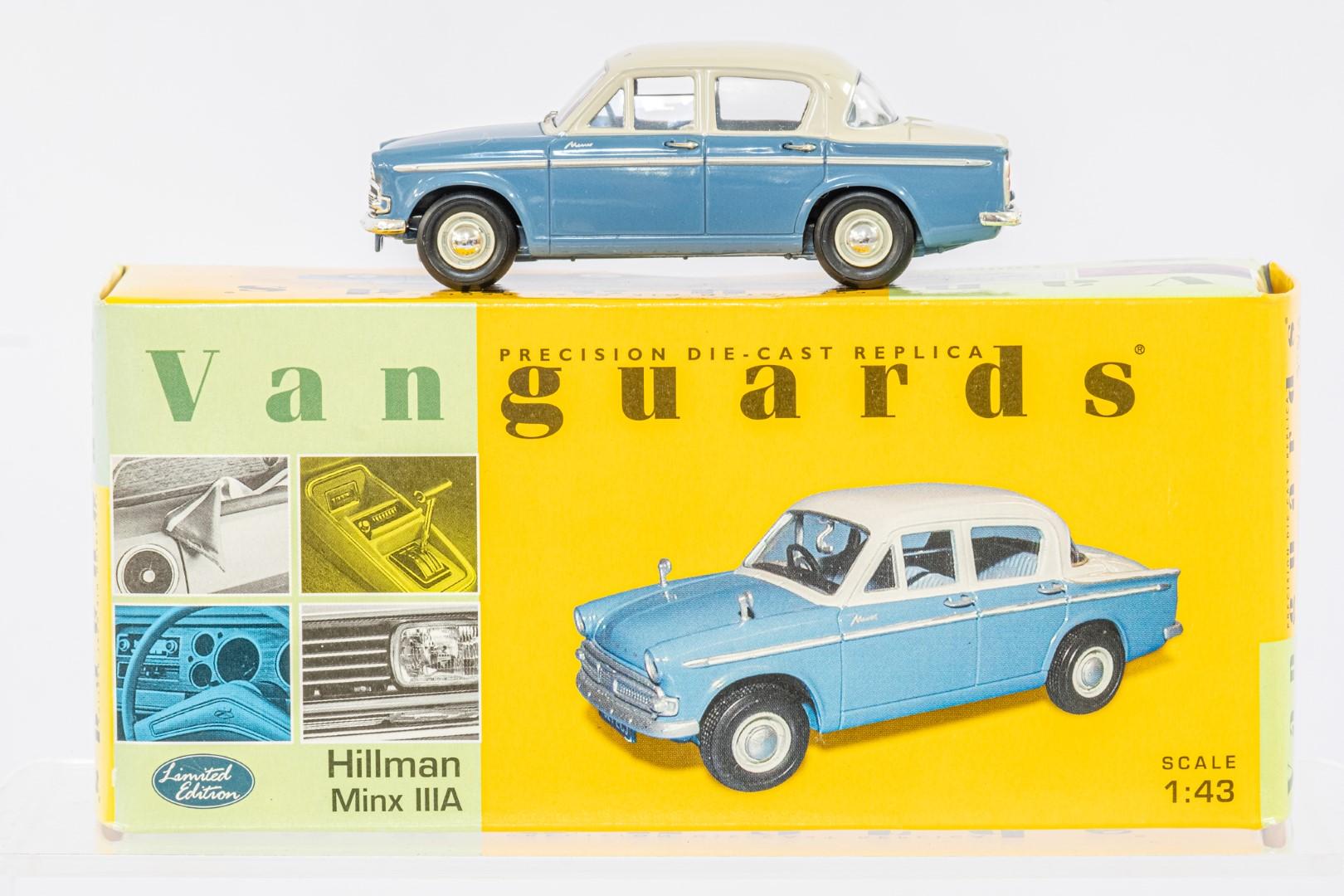 Vanguards Vauxhall Viva SL / Ford Cortina MK I / Hillman Minx IIIA - - Image 3 of 4