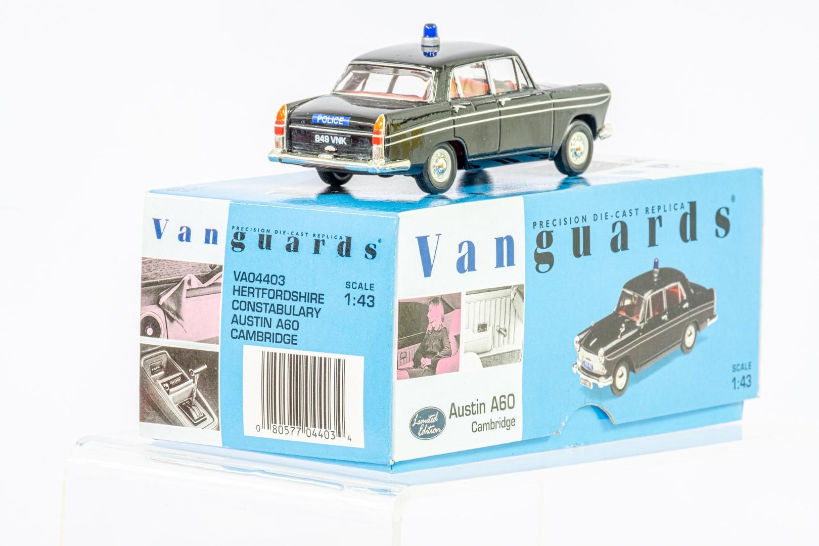 Vanguards Austin A60 Cambridge - Hertfordshire Police - Image 4 of 4