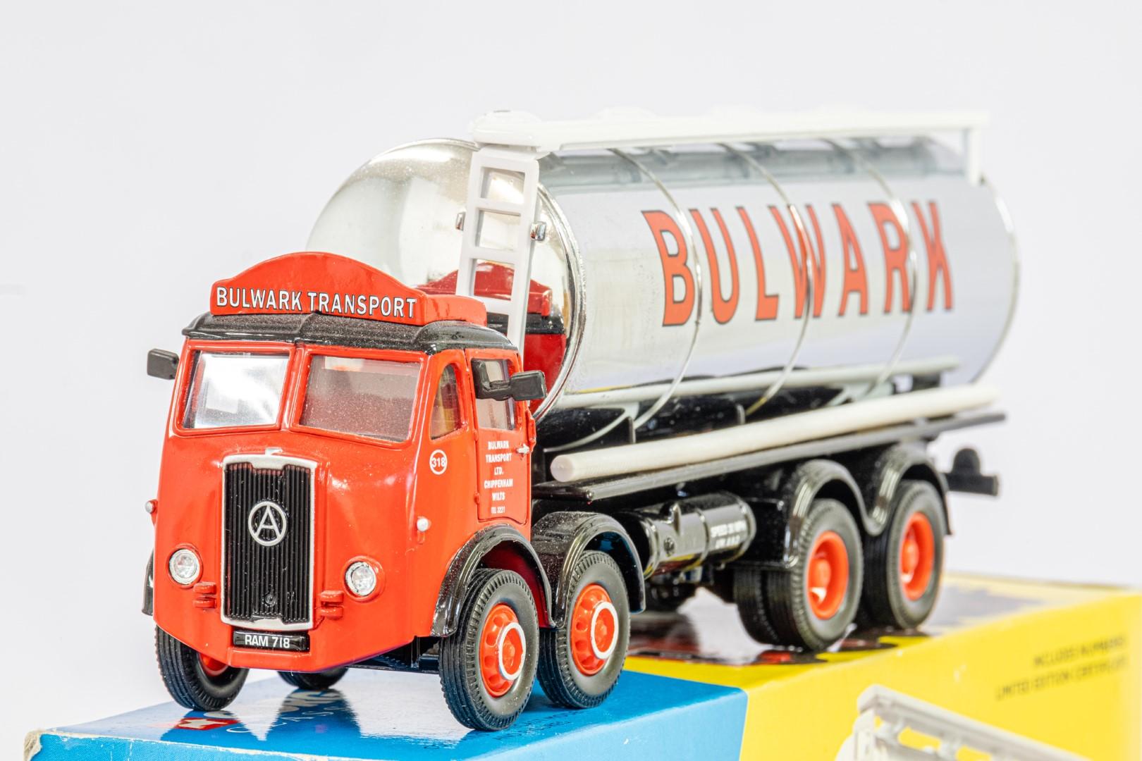 Corgi Atkinson Cylindrical Tanker Set - Bulwark Transport LTD - - Image 2 of 2