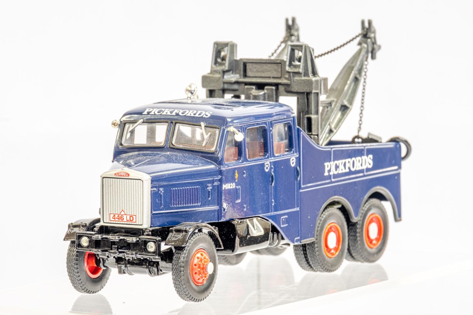 Corgi Pickfords Scammell Constructor Wrecker - Image 5 of 8