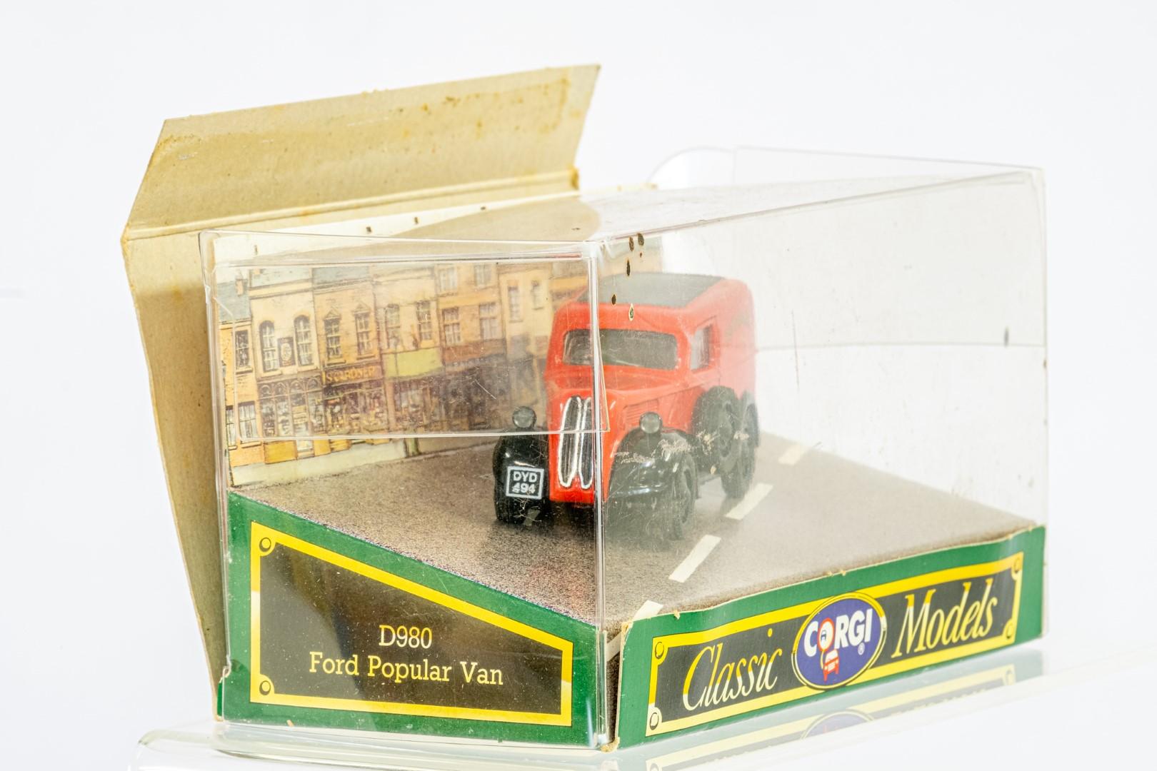 Corgi & Oxford Ford Popular Van & Model T Van - Image 3 of 8