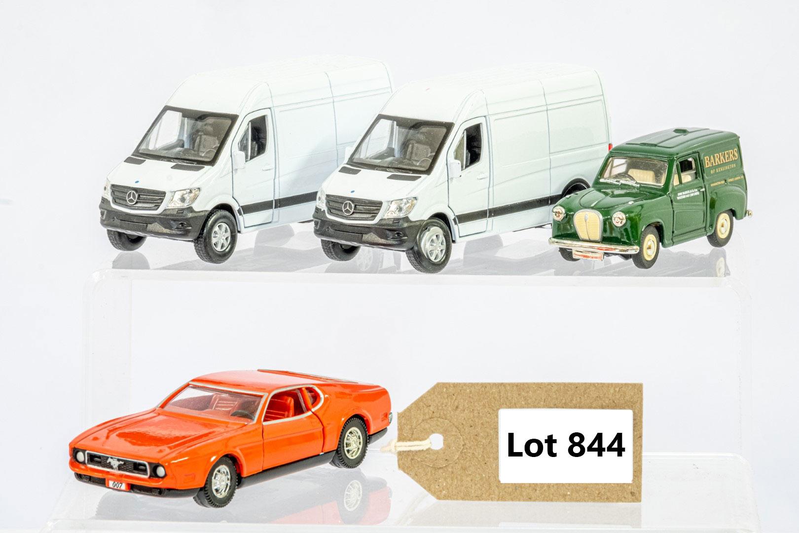 4 x Assorted Loose Car Models