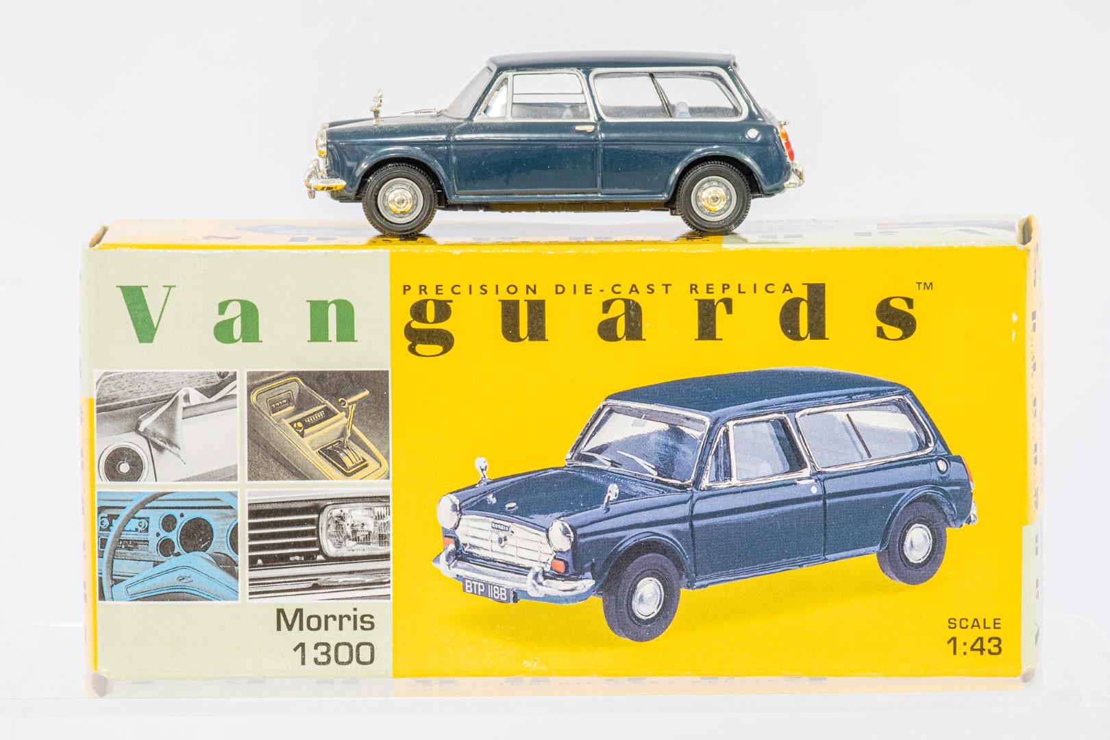 Vanguards Austin A40 Farina MkI Countryman - Black / Morris 1300 - Trafalgar Blue - - Image 2 of 3