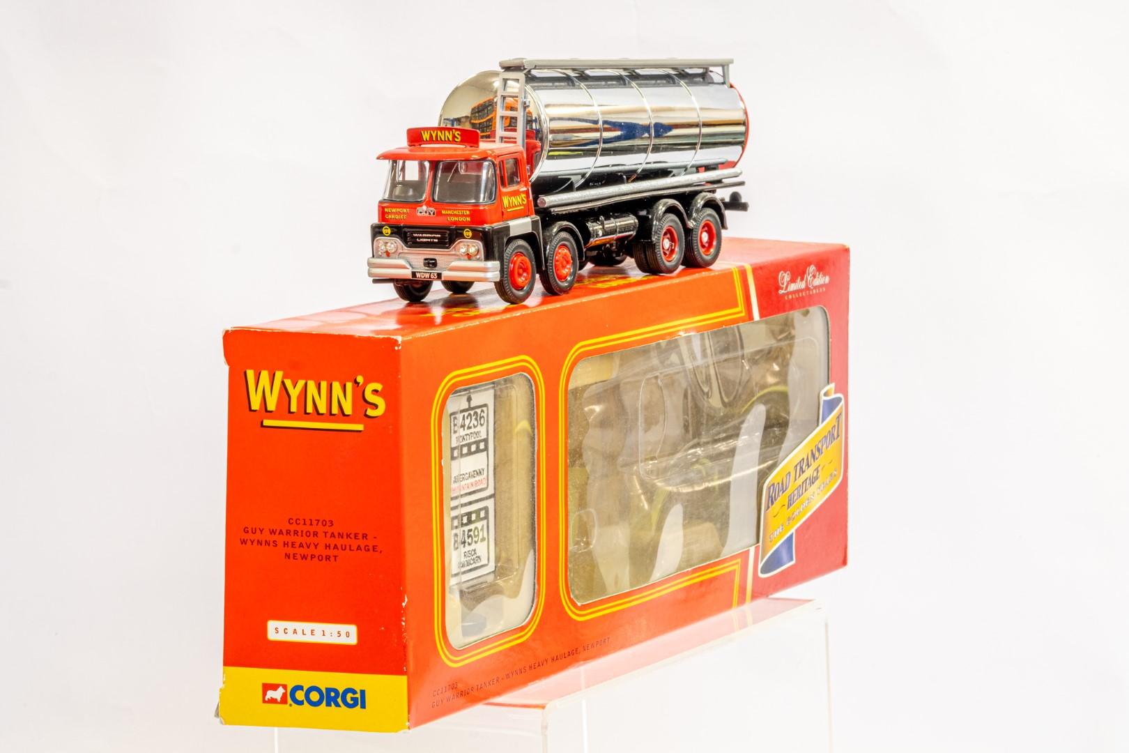 Corgi Guy Warrior Tanker - Wynns Heavy Haulage - Image 3 of 8