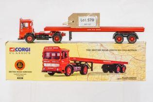 Corgi Leyland Ergomatic Trailer Set - British Road Services -