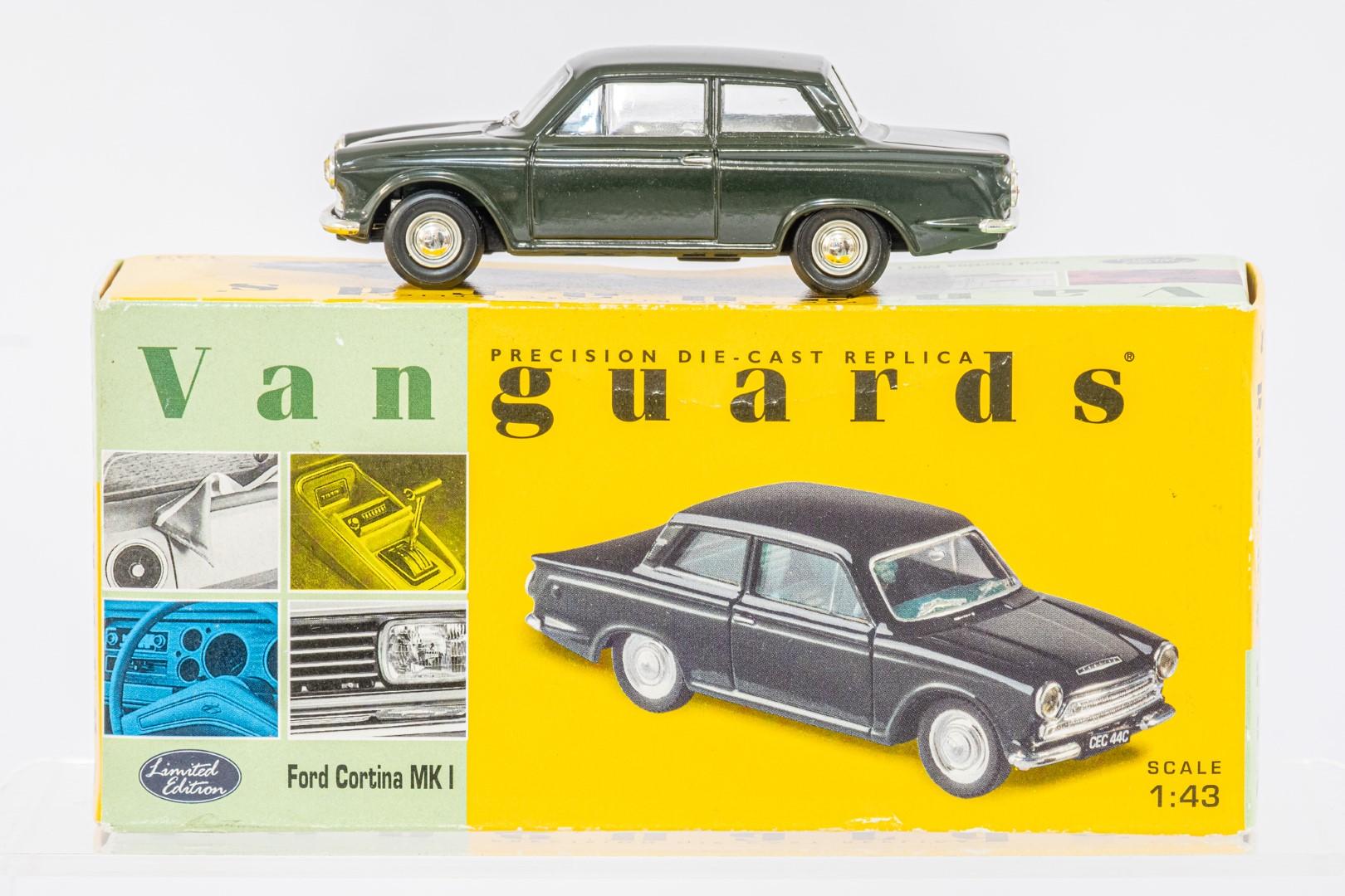 Vanguards Vauxhall Viva SL / Ford Cortina MK I / Hillman Minx IIIA - - Image 4 of 4