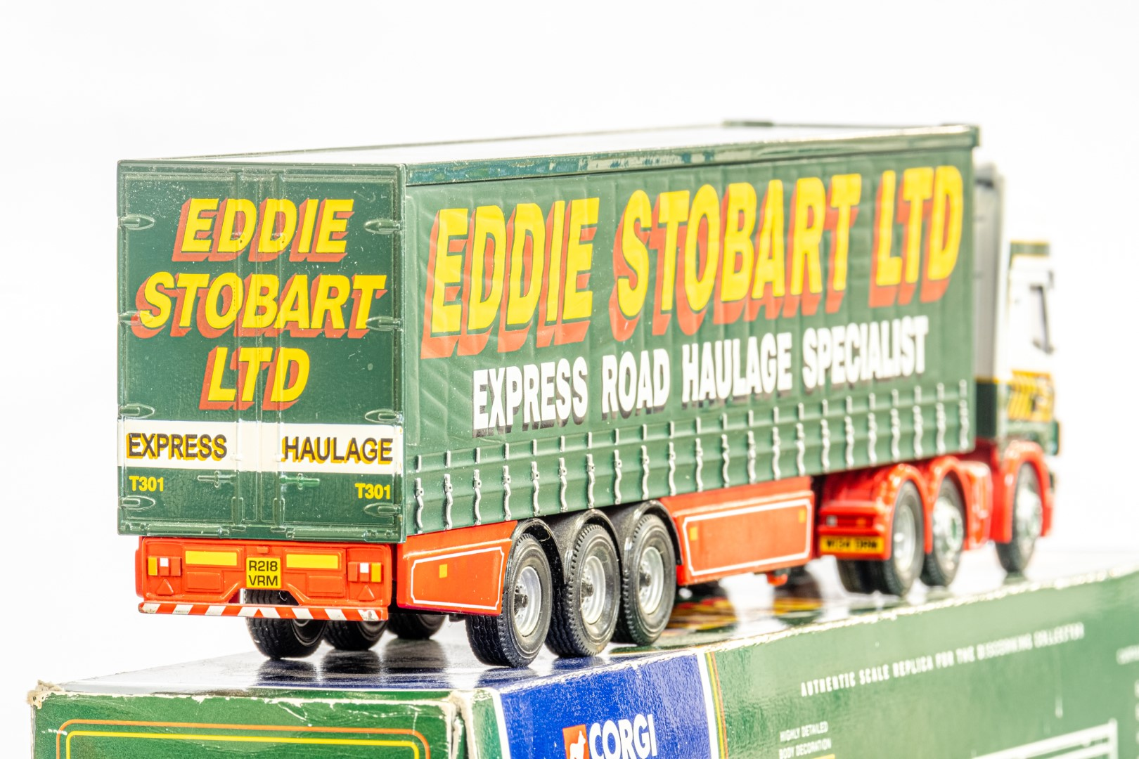 Corgi Scania Topline Curtainside Trailer - Eddie Stobart - Image 6 of 7