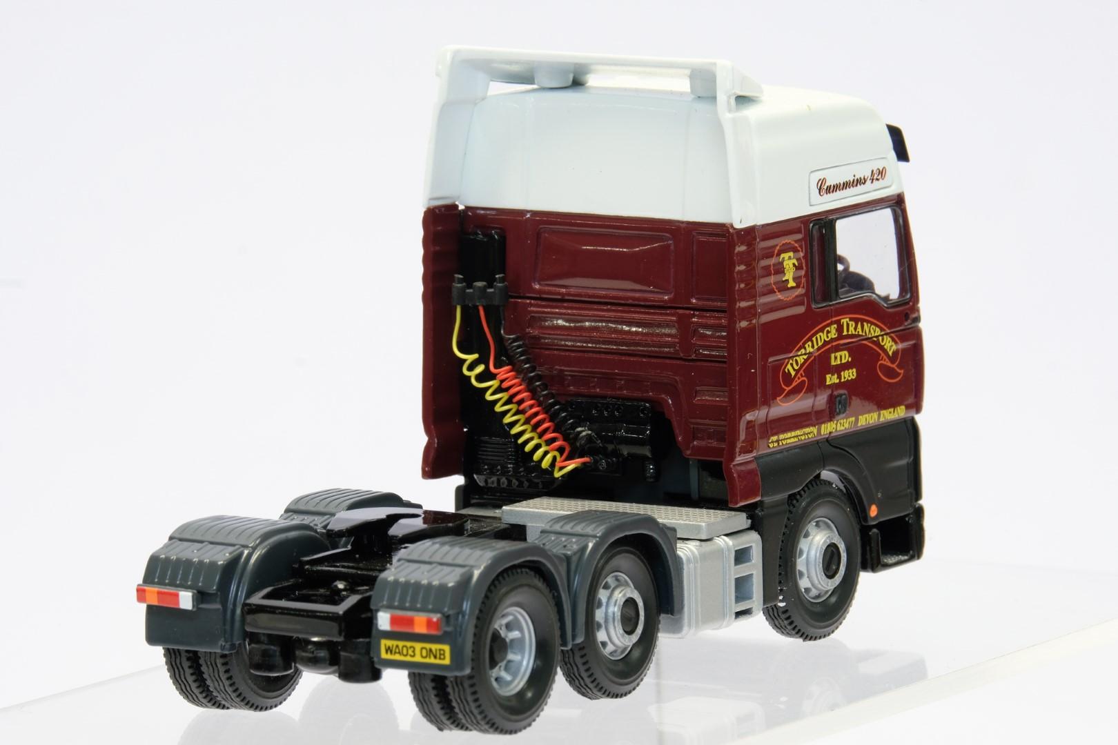 Corgi ERF ECT Curtainside - Torridge Transport Ltd - Tractor Unit Only - Image 3 of 3