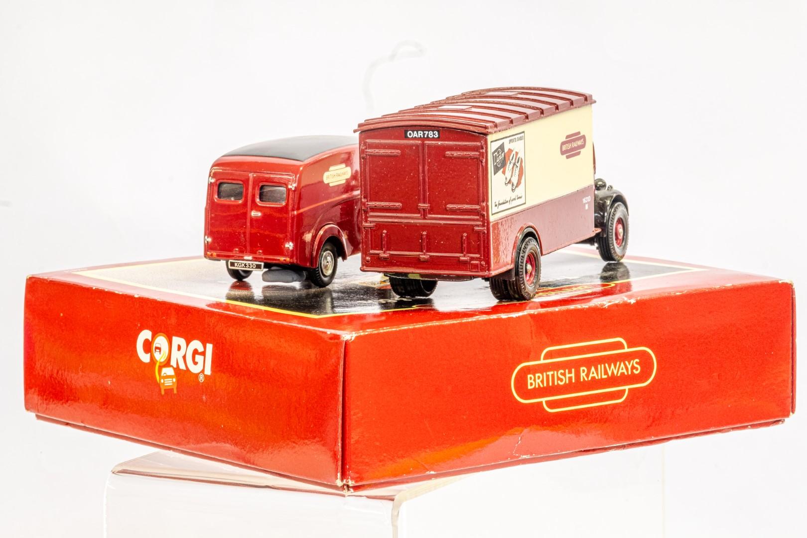 Corgi & Lledo 2 Boxed Models - Service Vans Of the 50's & 60's & Sentinel Ballast - Image 8 of 12