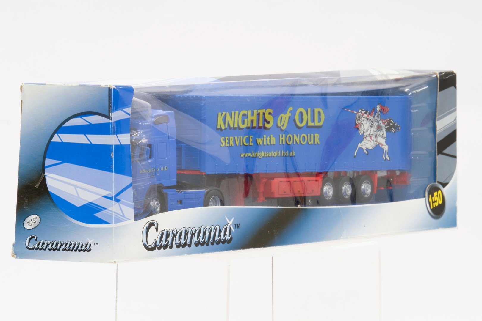 Cararama Volvo With Trailer - Knights Of Old - Image 2 of 3