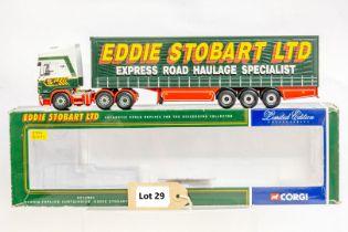 Corgi Scania Topline Curtainside Trailer - Eddie Stobart