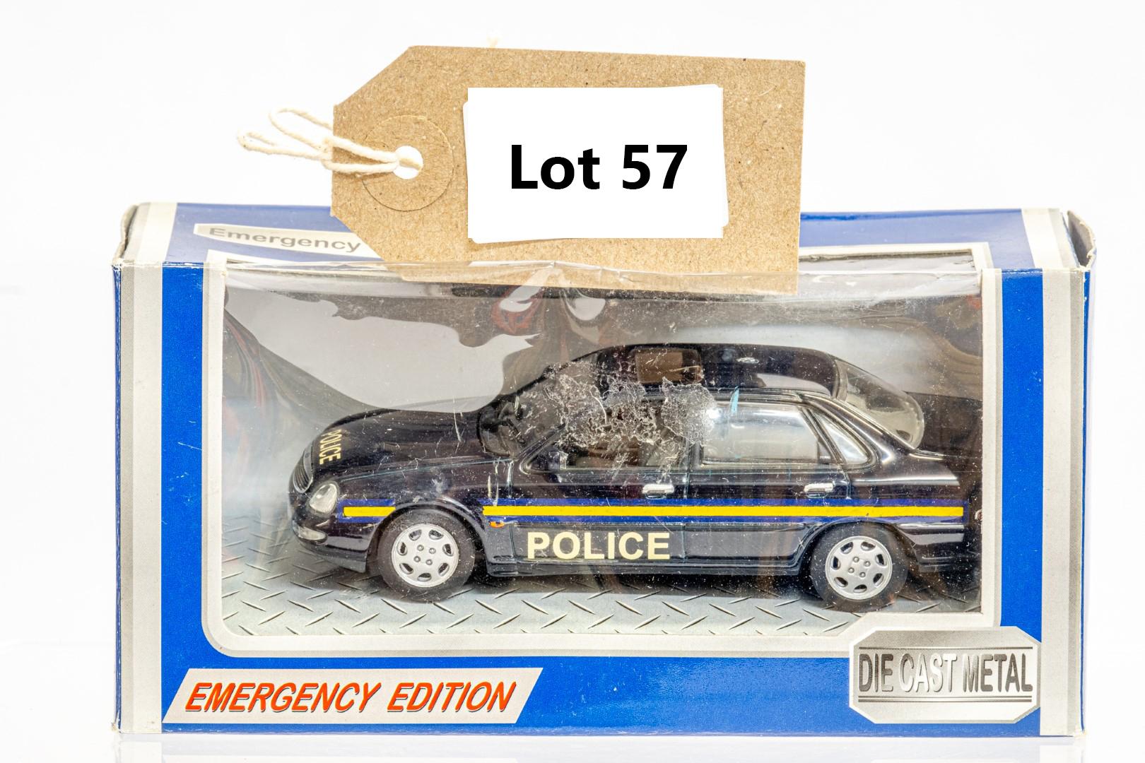 Automax Ford Granada - Police - Code 3
