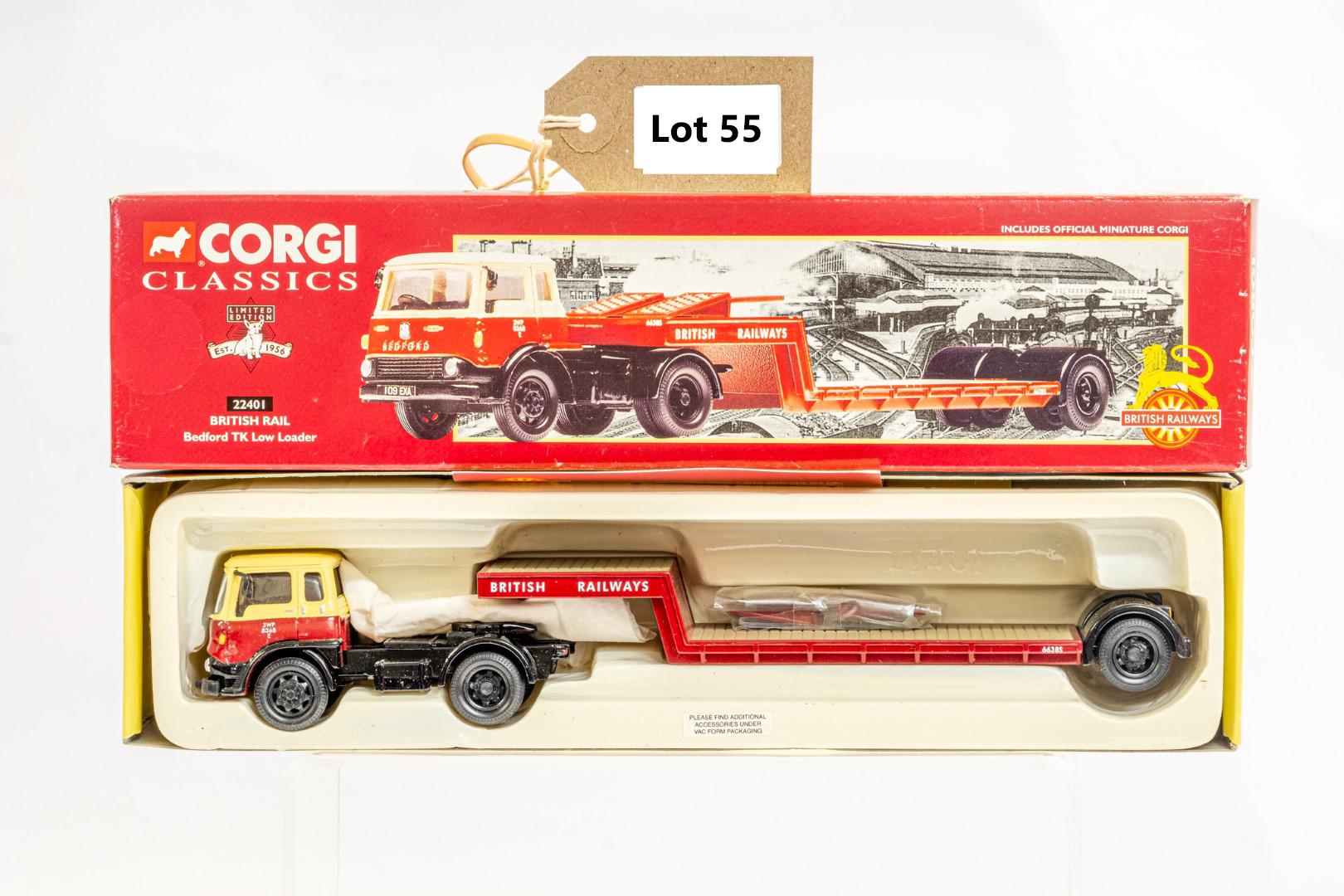 Corgi Bedford TK Low Loader - British Rail