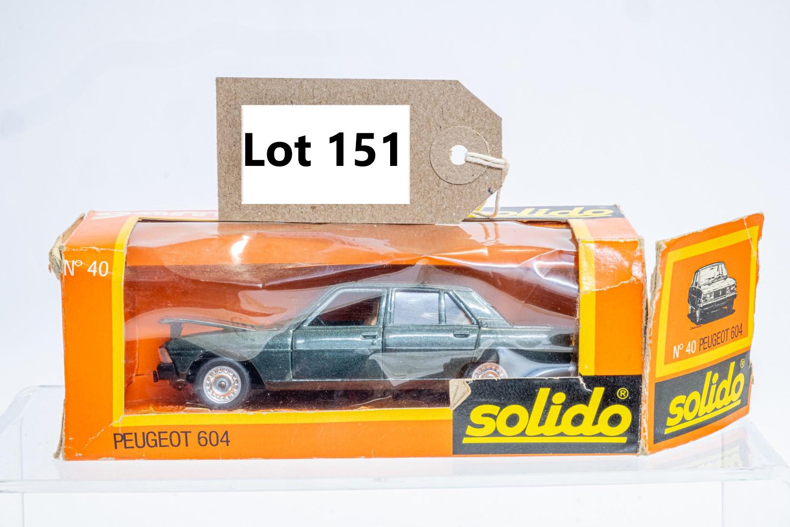 Solido 40 Peugeot 604