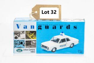 Vanguards Ford Lotus Cortina MKII - Hampshire Constabulary