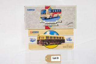 Corgi Weymann Single Deck Bus - Leicester City Transport / Plaxton Coach - East Kent