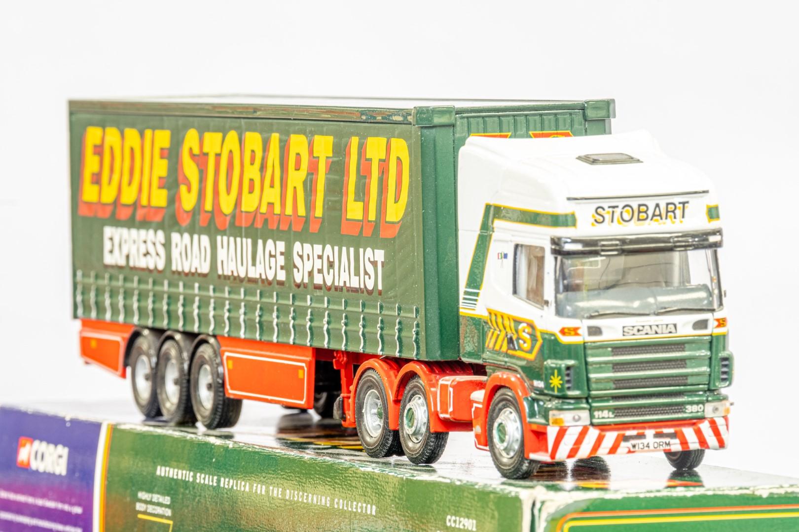 Corgi Scania Topline Curtainside Trailer - Eddie Stobart - Image 7 of 7