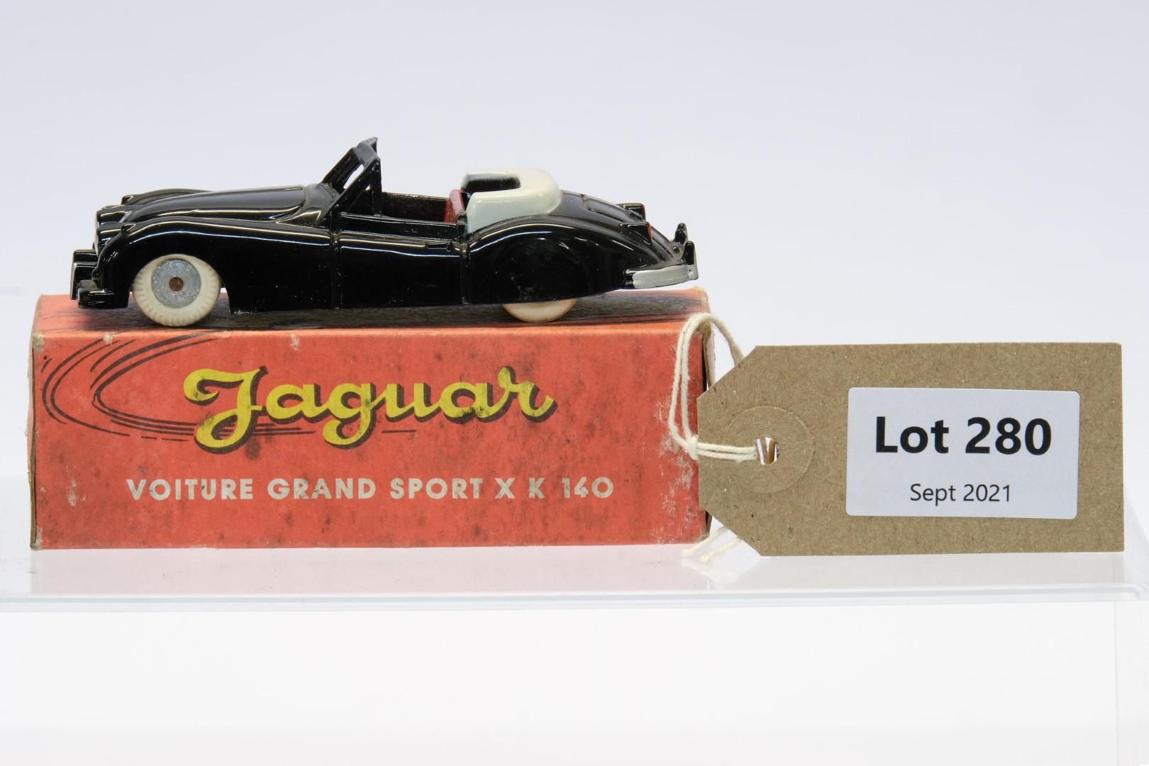 Quiralu Jaguar Voiture Grand Sport XK140 Black