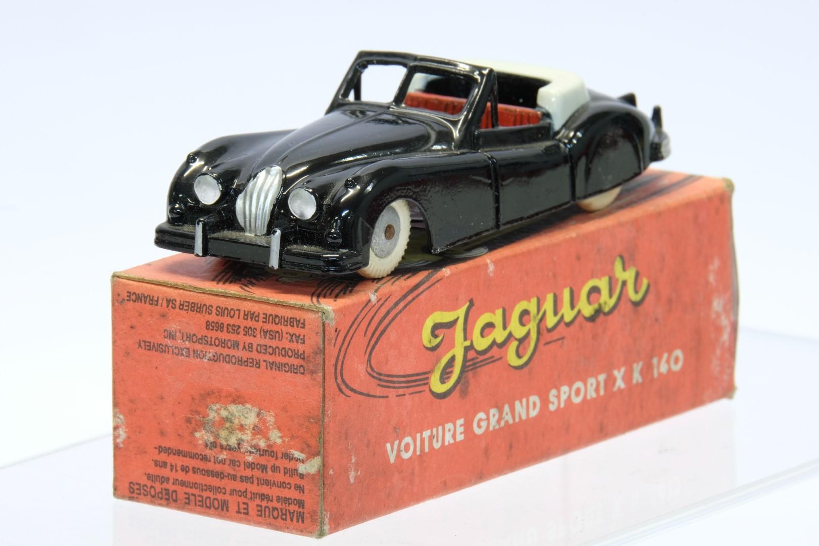 Quiralu Jaguar Voiture Grand Sport XK140 Black - Image 2 of 4