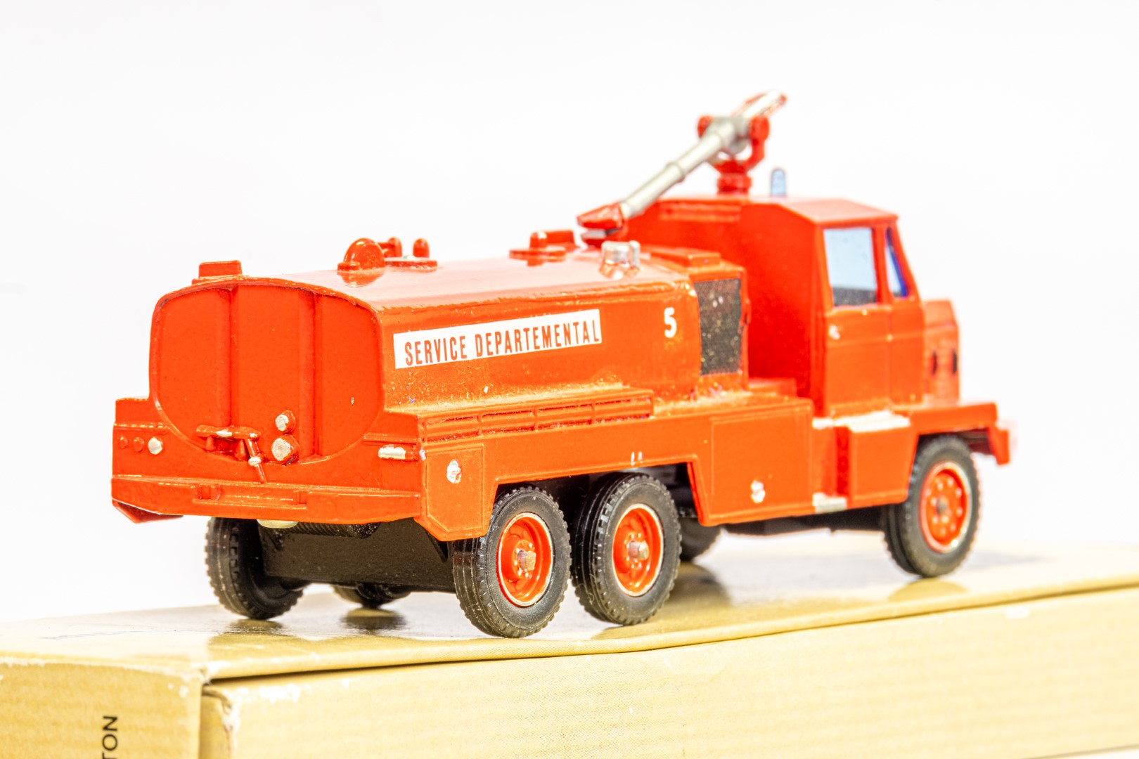 Solido Berliet GBC34 Camiva - Airport Fire - In Wrong Box - Image 6 of 7
