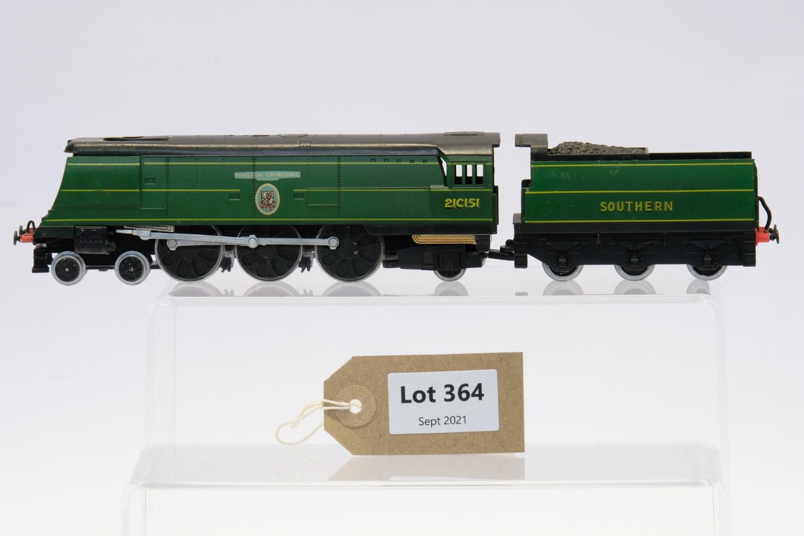 Winston Churchill Locomotive and Tender 21C151 - No Box - No Moving Parts